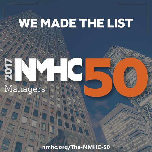 2017 NMHC Top 50 Managers